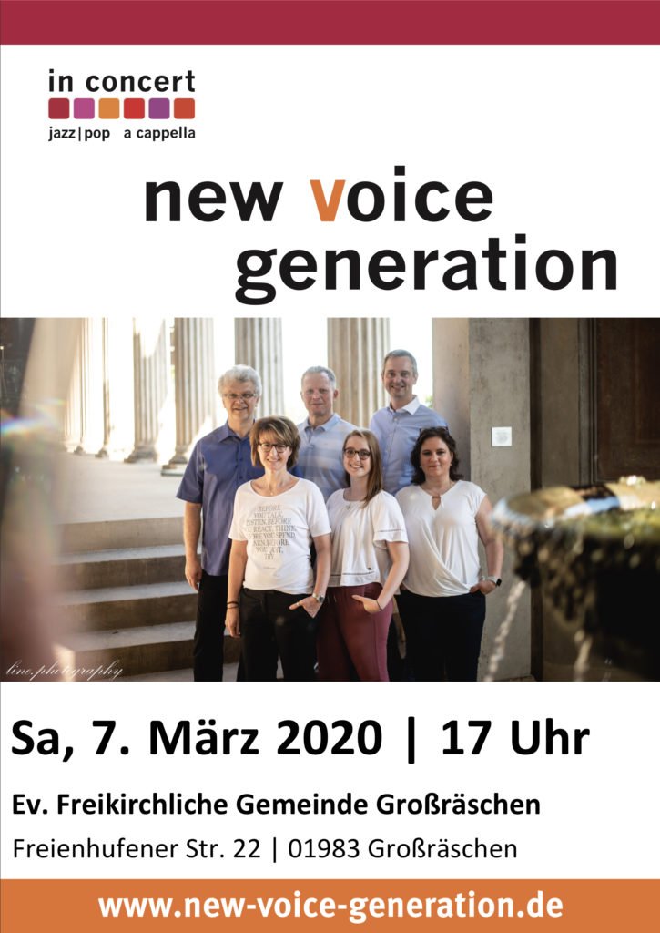 new voice generation in concert